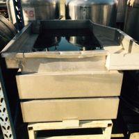 Bac de lavage avec chassis