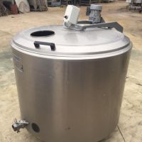 Prominox stainless steel mixing tank 520L