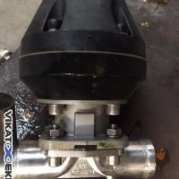 GEMU pneumatic control diaphragm valve DN 40
