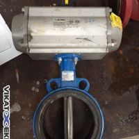 AIR TORQUE butterfly valve DN 150, with pneumatic actuator