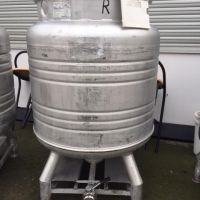 Dejong stainless steel container 800 litres