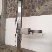 Drum lift and tip system