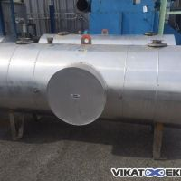 Insulated s.s. tank 1000 litres