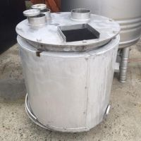 Insulated s.s. tank 200 litres with coil