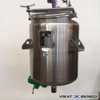 Stainless steel tank 175 litres with magnetic agitation