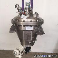 Cuve 108 litres inox 316 agitation magnétique