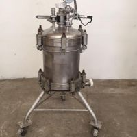 Stainless steel single plate filter 25 litres