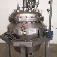 Réacteur LTM inox 316L, double enveloppe – 294 litres