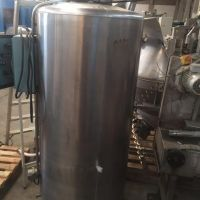 Cuve inox agitée 500 litres chauffage électrique