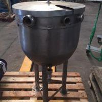 Cuve inox 75 litres sur 3 pieds