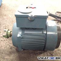 Moteur ABB 0.75 KW 920 Tr/min Type : MT90S24F115-6