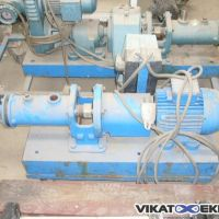 PCM displacement pump on trolley , steel