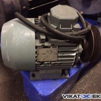 BBC geared motor type MEUX 80 LL4