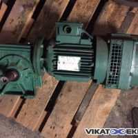 Leroy Somer geared motor type LS80L1