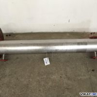 Tubular heat exchanger area 1.4m2, 2 pass