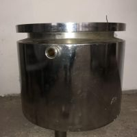 Jacketed stainless steel tank 90 litres without lid