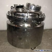 Insulated stainless steel tank