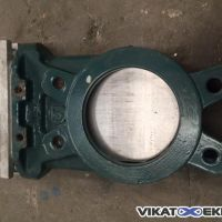 Knife gate valve body DN 100