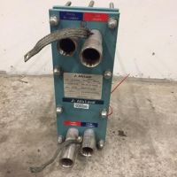 Alfa Laval stainless steel plate exchanger type M3XFBL