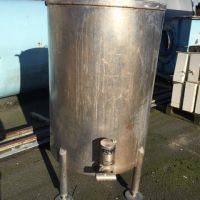 Stainless steel tank 580 L