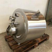 Cuve inox 316 double enveloppe 150 litres