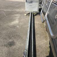 Monte charge 250 kg,  ACI élévation