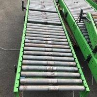 Roller conveyor Length 3000 mm