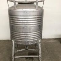 Stainless steel container 800 L