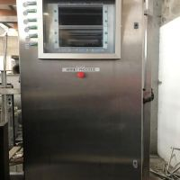 Stainless steel electrical cabinet, empty