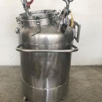 Cuve inox sur roues 183 litres