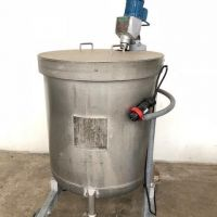 Stainless steel stirred tank 500L