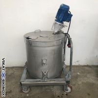 Stainless steel stirred tank 200 L