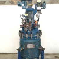 Réacteur acier émaillé agité De Dietrich volume total 211L