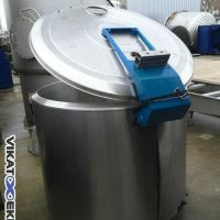 Dairy stainless steel tank 1200 litres