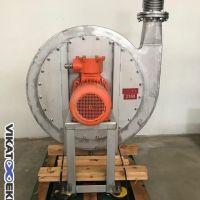 Ventilateur inox centrifuge type : HPB 865 IS ADF – 11 KW AEIB