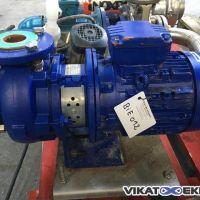 Pompe centrifuge acier KSB type ETABLOC ETB 065-050-125 GG AA10D200402