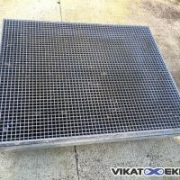 Galvanised gratings 1265 x 1020 mm