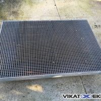 Galvanised gratings 1395 x 995mm