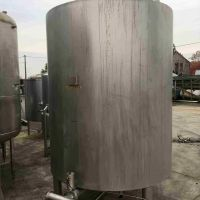 St. steel tank 4000L Insulated