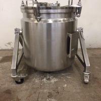 Cuve inox 316 double enveloppe 100 litres
