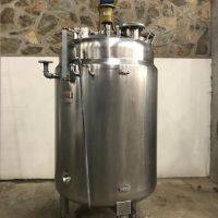 Jacketed St. steel agitated tank 1500 litres
