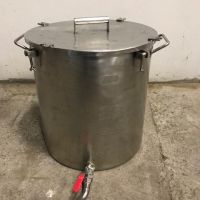 Stainless steel vessel 75 L