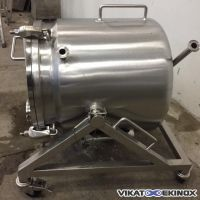 Jacketed stainless steel tank 100 litres