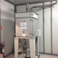 LTG AEROB St. steel dust collector type AMT22