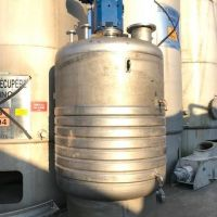 Cuve mélangeuse inox 4000 litres demi-coquille