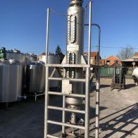 CELLIER ion exchange column, St. steel, 250 litres