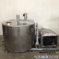 Tank à lait inox JAPY type 750 L