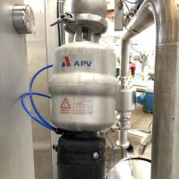 APV st. steel regulation valve