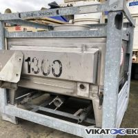 Stainless steel container UMFORMTECHNIK HAUSACH 500 litres