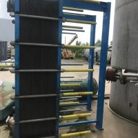 VICARB heat exchanger 130 plates